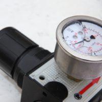 Druckregulierer für Kabelschub-Raupe