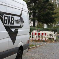 GKB-Montagebaustelle