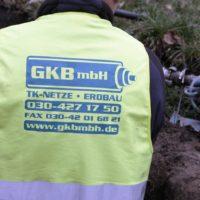 GKB-Monteur mit Nebel-Öler