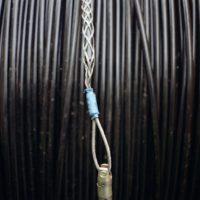Kabelziehstrumpf mit Drallfänger