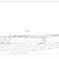 Revisionszeichnung Brückenkörper