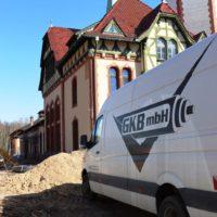 GKB FttH-Montage in historische Gebäude
