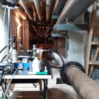 Kabelzugaufbau im Kollektor